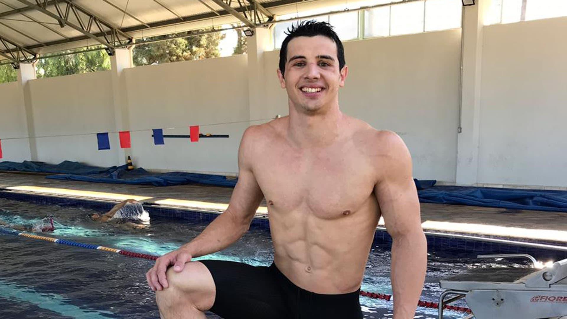 O nadador Leonardo Jacon é o primeiro paratleta do programa Pro Atleta da Muvin